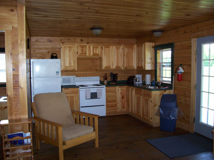 Maine Cabin Rental Cabin Photos - Kennebec Cabins